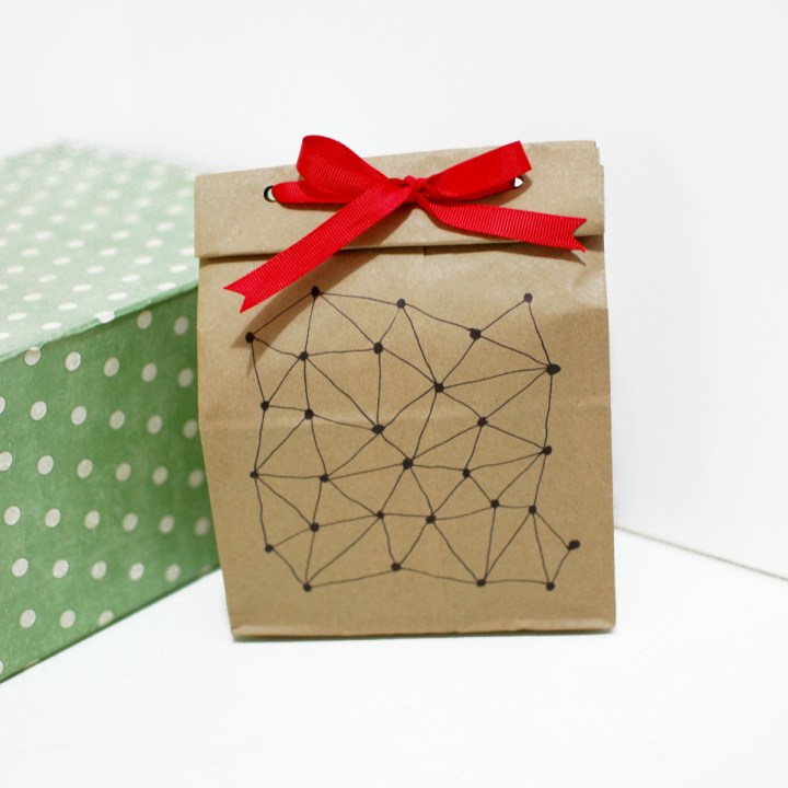 Paper Bag Gift Wrapping - Paper and Landscapes
