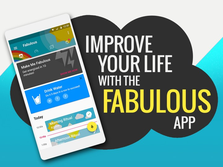 The Fabulous App Helps You Improve Your Life