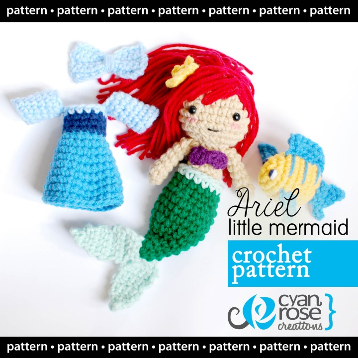 Featured Crochet Pattern: The Little Mermaid