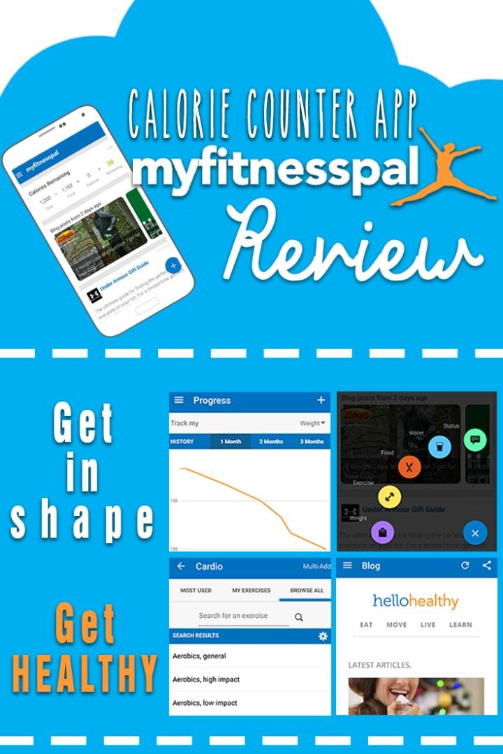 MyFitnessPal Calorie Counter App Review [Pinterest]