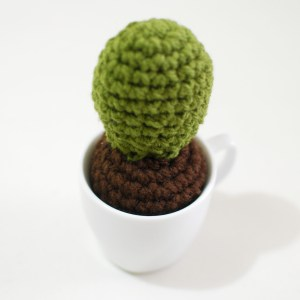 06 Big Part - Crochet Cactus Free Pattern - Paper and Landscapes