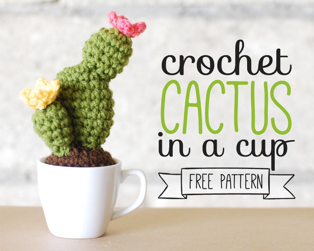 Free amigurumi pattern, free crochet pattern, free crochet cactus ... | 800x1000