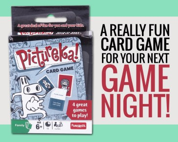 Pictureka Card Game - Paper and Landscapes