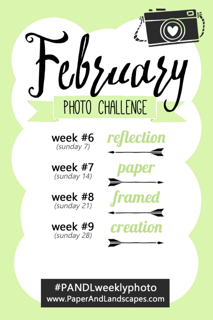 Weekly Photo Challenge February - Paper and Landscapes
