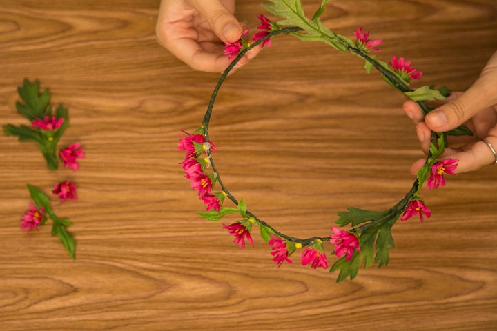 DIY Flower Crown 10