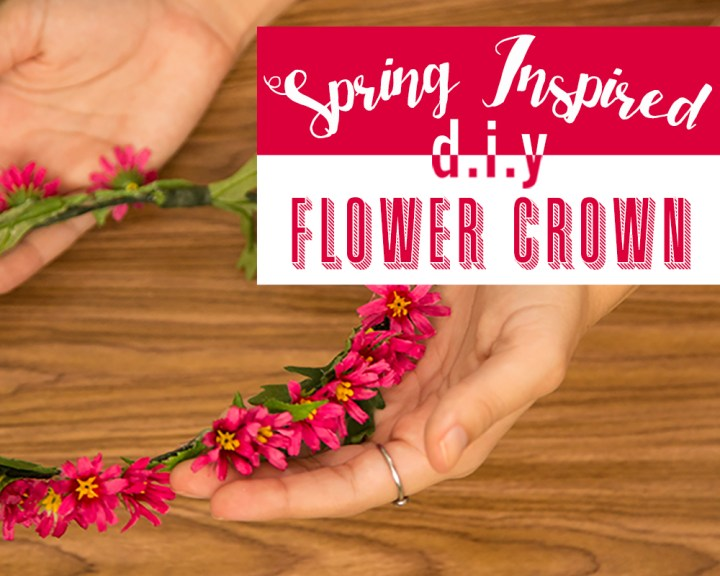 Spring Inspired DIY Flower Crown