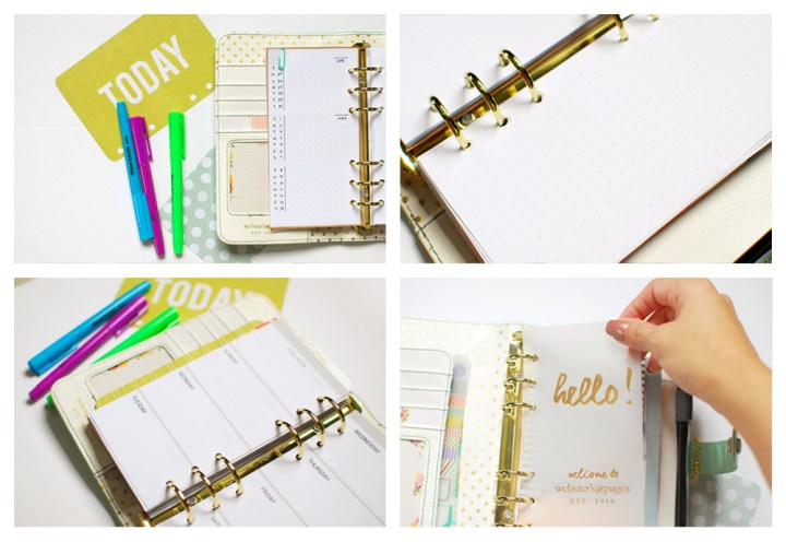 New Planner and Free Inserts - Paper and Landscapes