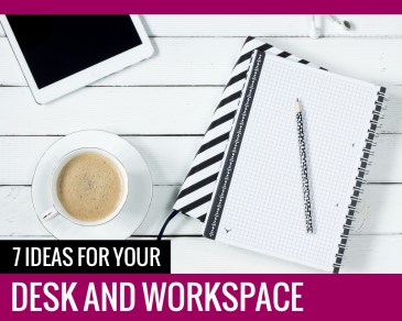 Ideas Desk and Workspace - Paper and Landscapes