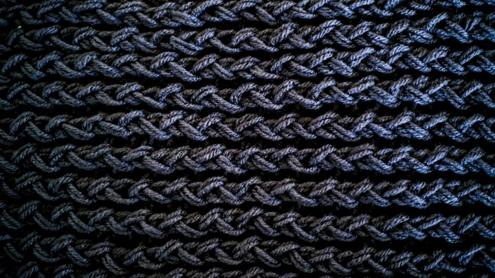 My experience making a scarf with a loom - 4.5 - PandL