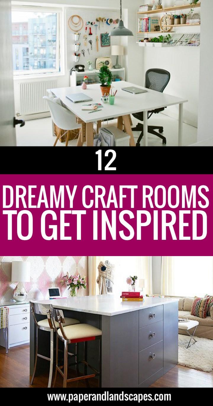 12 Dreamy Craft Rooms - P&L Pinterest