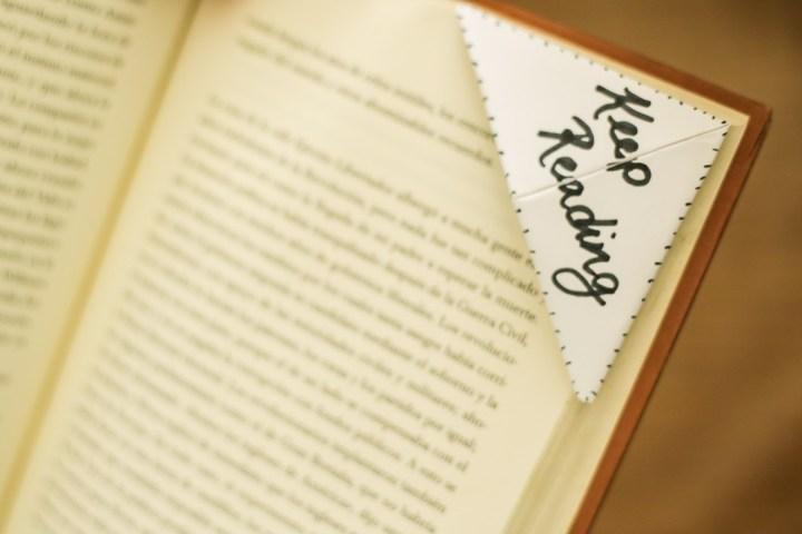 DIY Easy & Cute Corner Bookmark 11