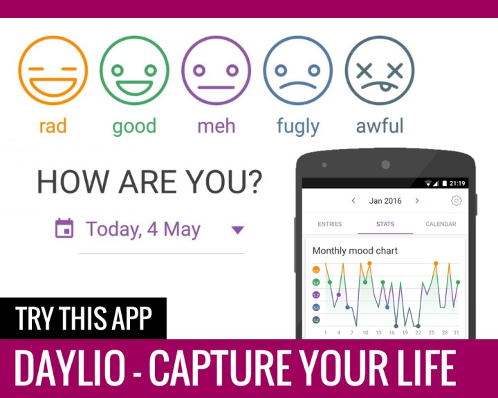 Daylio App Review - Paper and Landscapes