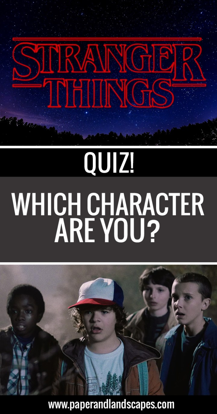 Which Stranger Things Character Are you - Pinterest 2