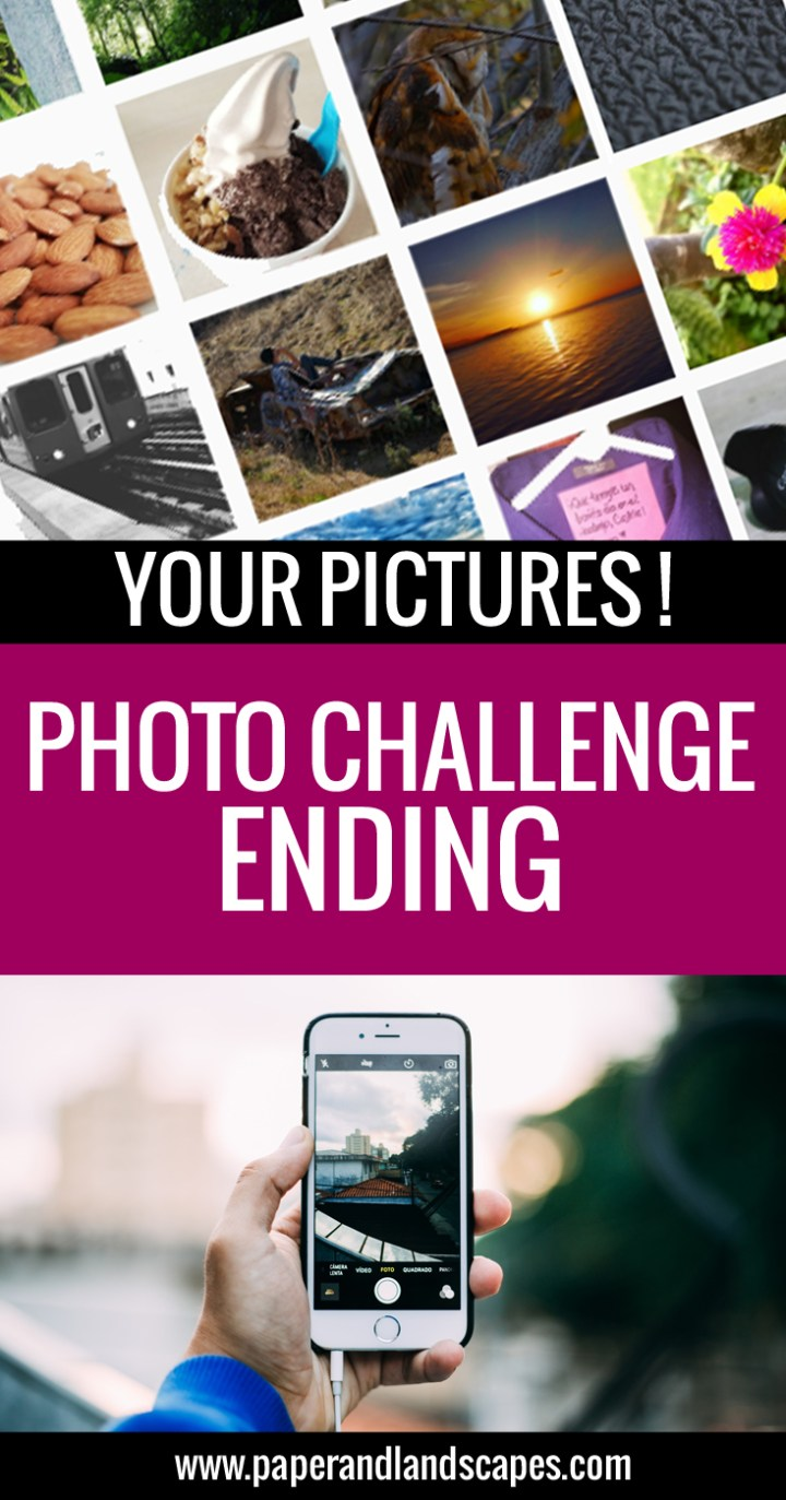 Photo Challenge Ending - Paper and Landscapes