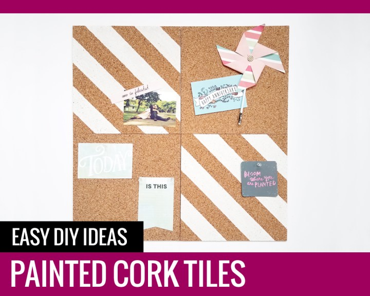 Painted Cork Tiles - Paper and Landscapes