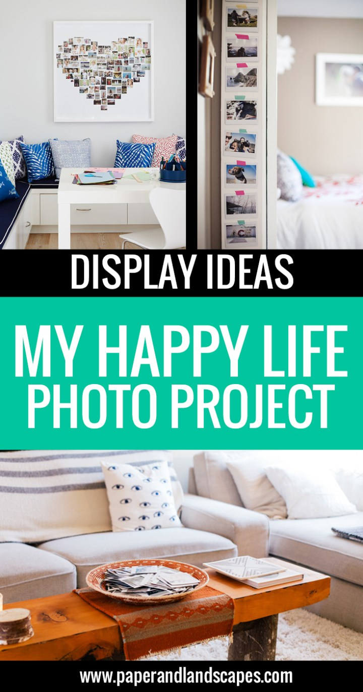 My Happy Life - Display Ideas - Paper and Landscapes