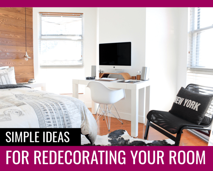 Simple room redecorating ideas