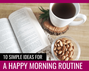 Morning Routine - Paper and Landscapes