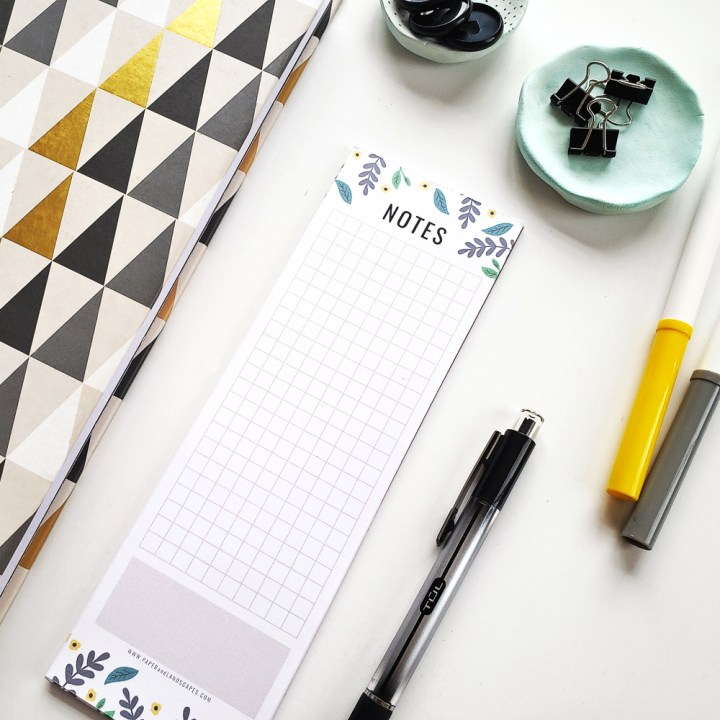DIY Notepad - Paper and Landscapes