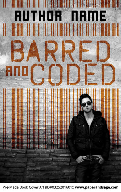 Pre-Made Book Cover ID#0325201601 (Barred and Coded)