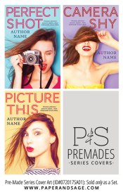 PreMade Series Covers ID#072017SA01 (Perfect Shot Trilogy, Only Sold as a Set)