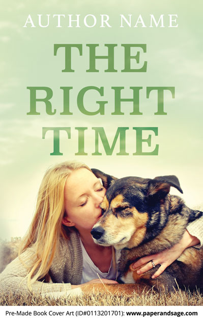 Pre-Made Book Cover ID#0113201701 (The Right Time)