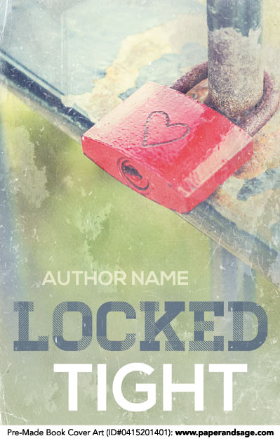 Pre-Made Book Cover ID#0415201401 (Locked Tight)