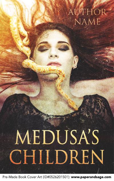 Pre-Made Book Cover ID#0526201501 (Medusa's Children)