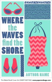Pre-Made Book Cover ID#0915201502 (Where the Waves Find the Shore)