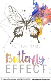 Pre-Made Book Cover ID#1218201502 (Butterfly Effect)