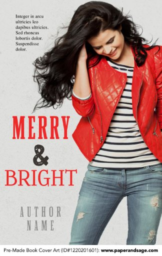 Pre-Made Book Cover ID#1220201601 (Merry & Bright)