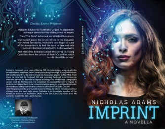 Print layout for Imprint by Nicholas Adams