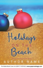 Pre-Made Book Cover ID#171103TA01 (Holidays on the Beach)