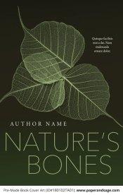 Pre-Made Book Cover ID#180102TA01 (Nature's Bones)