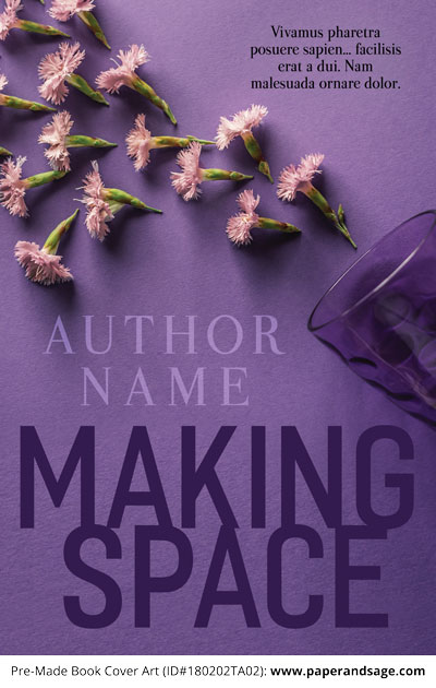 Pre-Made Book Cover ID#180202TA02 (Making Space)