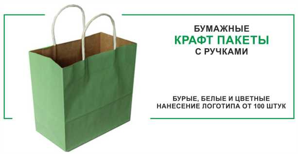 KRAFT BAG WITH HANDLE