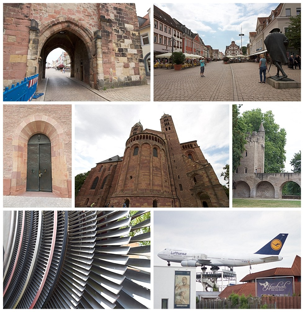 Germersheim and Speyer