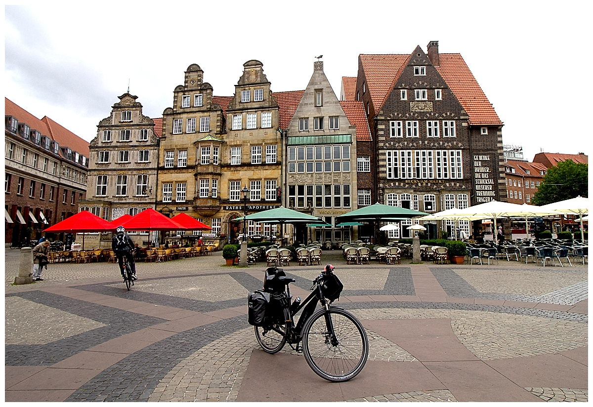 Cycling in Bremen