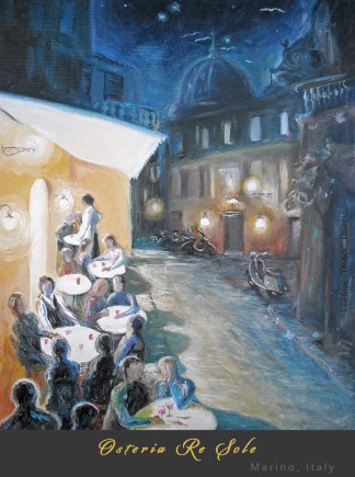 Osteria Re Sole Marino by Leanne Talbot Nowell