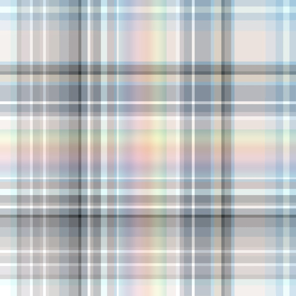 rainbow check fabric