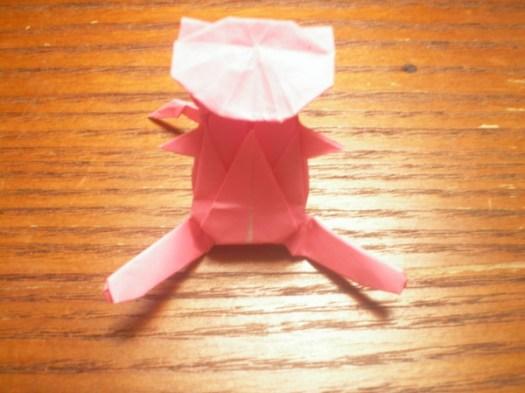 Pokemon Origami Instructions Mew Tutorial Handmade