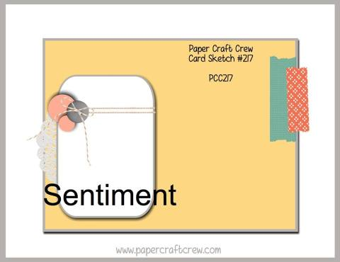 Paper Craft Crew Sketch 217