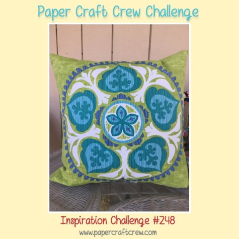 Paper Craft Crew Inspiration Challenge 248. Play along at www.papercraftcrew.com #inspirationchallenge #pcc2017 #craft