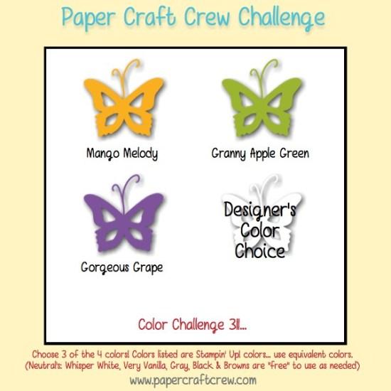 Paper Craft Crew PCC311 Color Challenge