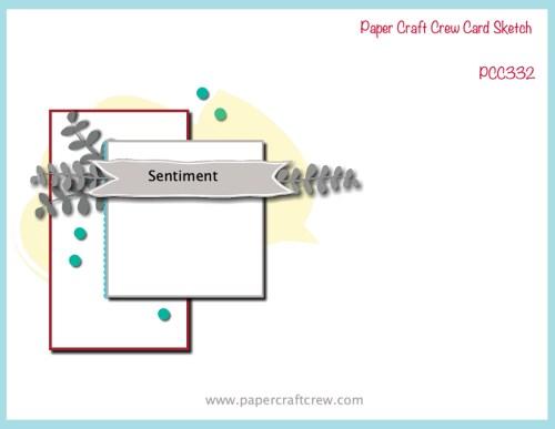Paper Craft Crew Sketch Challenge PCC332