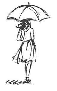 "bookmark ideas with ""umbrella girl"""