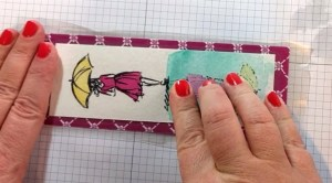 bookmark ideas finish adding contact paper