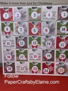 Christmas projects with the children, Countdown to Christmas,  Christmas project for all year,  handmade projects with the children, rainy day projects, handmade gifts, paper crafts, Advent calendar, Advent project, fun with the kids,