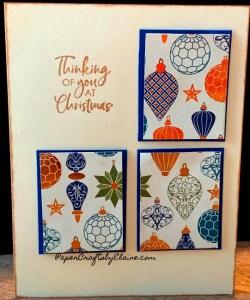handmade Christmas cards, greeting cards for Christmas,  Brightly Gleaming Christmas cards,  Easy to make Christmas Cards,