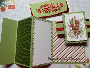 fancy fold, fancy tri fold, autumn tri fold, greeting cards, quick and easy cards, how to make a tri fold card,